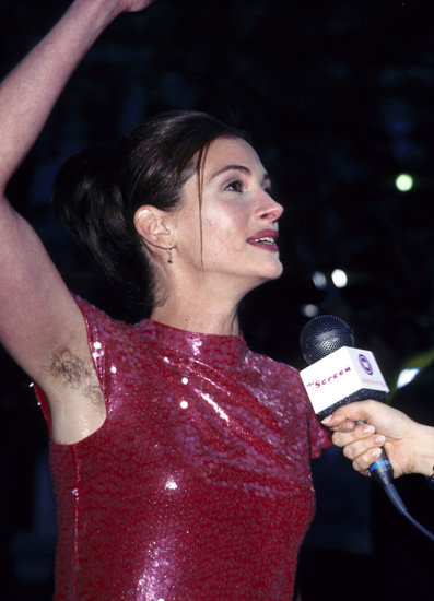 hairy-armpit-julia-roberts Foto: