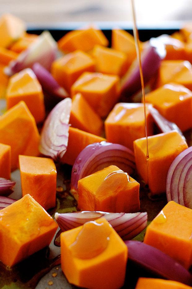 Dýně s javorovým sirupem a fetou 2 Foto: