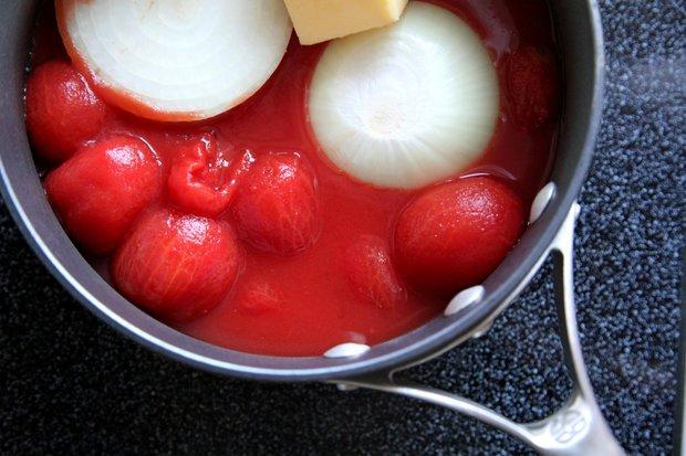 Rajčatová omáčka podle Marcelly Hazan 2 Foto: