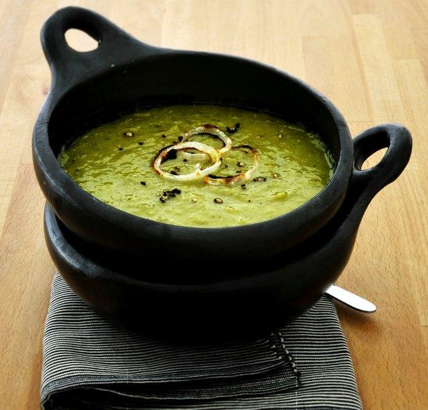 Pórkovo-bramborová polévka  Foto:
