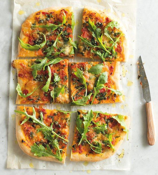 Pizza salsa verde  Foto: