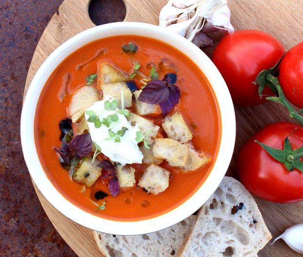 Italská tomatová polévka  Foto: