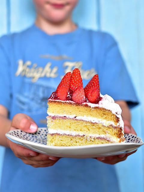 Jahodový dort 2 Foto: