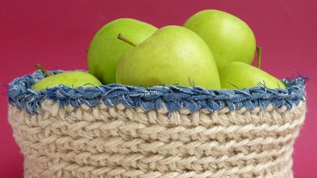 DIY háčkované košíky , Foto: Eva Trávníčková