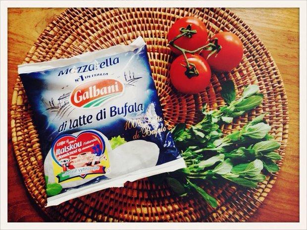 Mozzarella di latte di Bufala - Galbani Foto: Klára Michalová