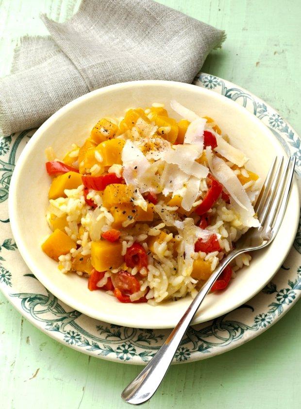 Paprikové  risotto s dýní Foto: