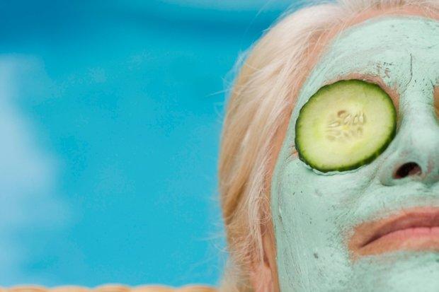 Pleťová maska s okurkou Foto: