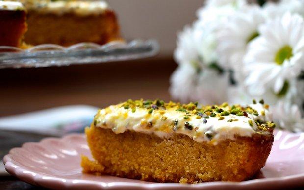 Šťavnatý pomerančový koláč  Foto: