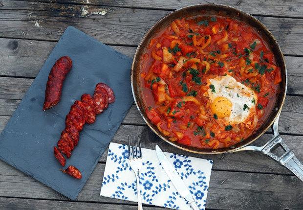 Lečo s uzenou paprikou a vejcem 3 Foto: