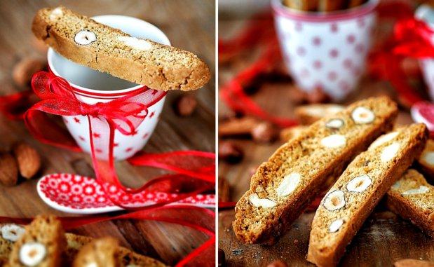 Biscotti – sušenky s ořechy Foto: