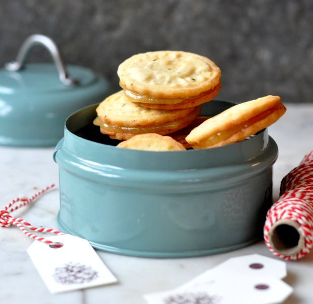 Earl Grey sušenky s lemon curd  Foto: