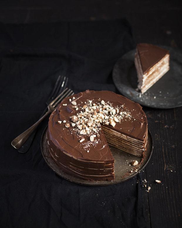 Karlovarský oplatkový dort 2 Foto: