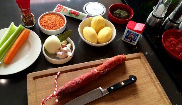 S Klárou v kuchyni: Španělská čočková polévka  Foto: