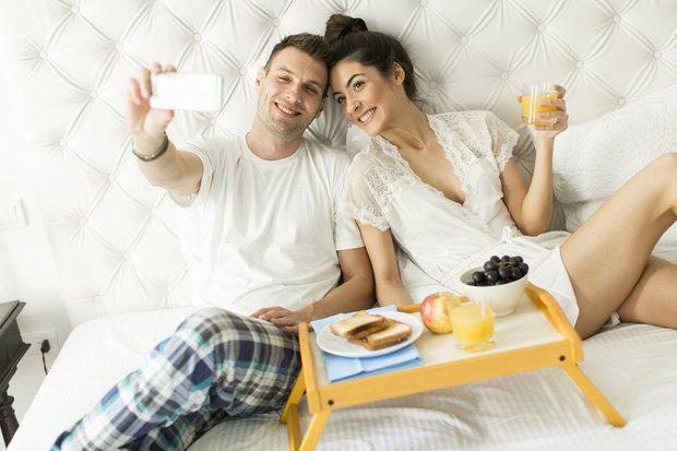 snídaně v posteli Foto: