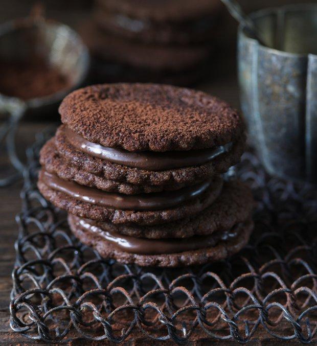 Dvojité čokoládové sušenky  Foto: