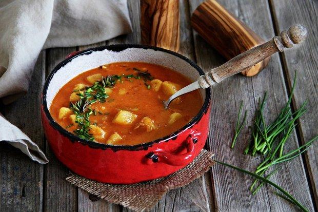 Jemná bramborová polévka 2 Foto: