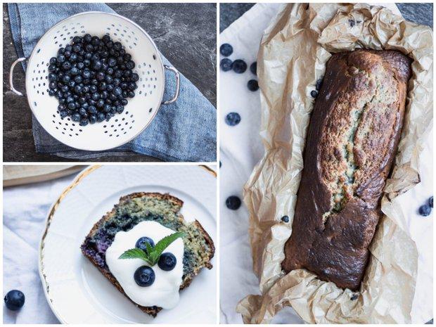 Makovo-borůvkový chlebíček  Foto: