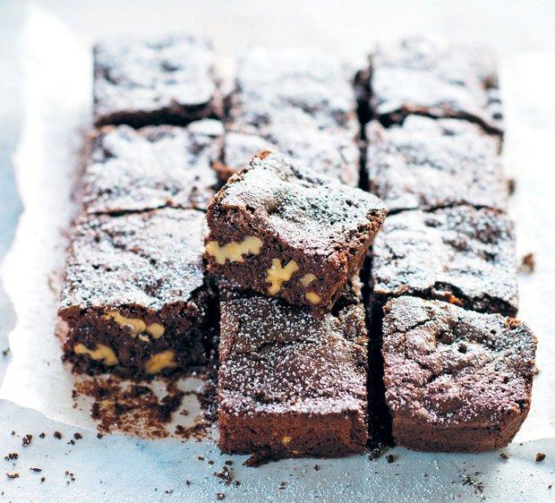 Tradiční ořechové brownies  Foto: