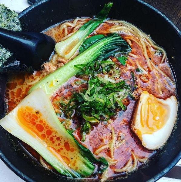 Japonská polévka ramen  Foto: