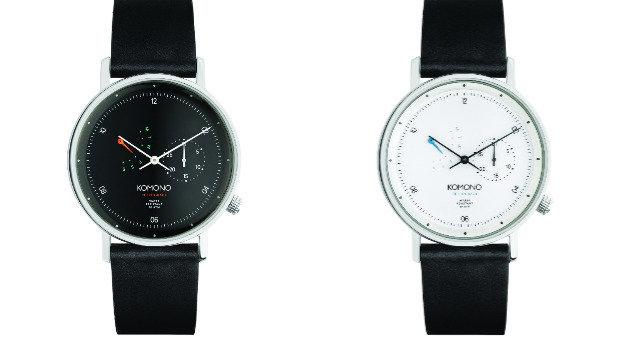 Luxusní hodinky Komono Walther Retrograde s unikátním systémem kalendáře, komono.com Foto: