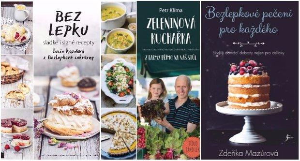 Vánoční knižní tipy kuchařky Foto: