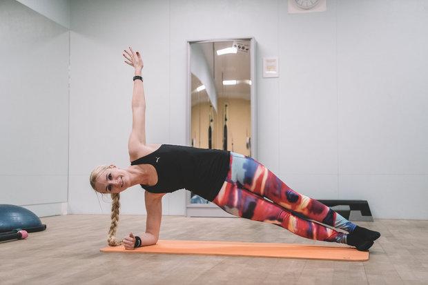 Velký speciál #2 plank bok nejtěžší Foto: