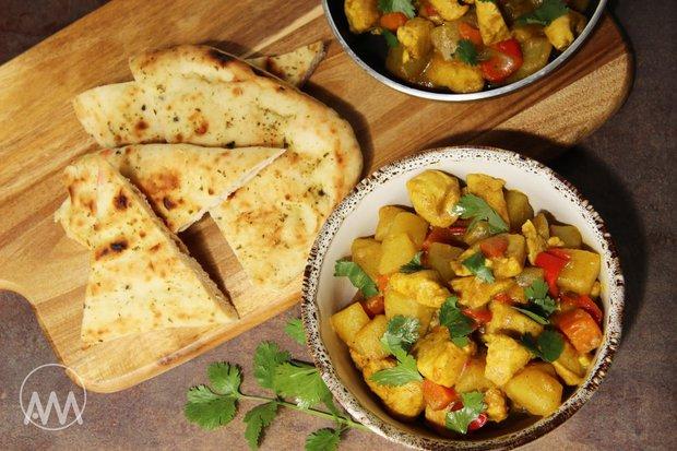 Bramborové curry s kuřetem 2 Foto: