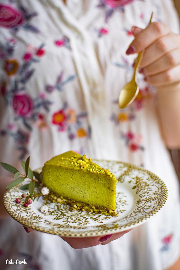 Pistáciový cheesecake 2 Foto: