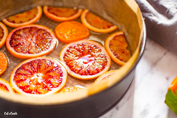 Obrácený citrusový koláč 2 Foto: