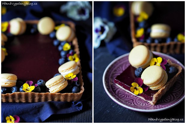 Linecký koláč s borůvkami Foto: