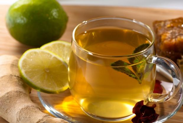 Zázvorový čaj s limetkou a medem Foto: Thinkstock