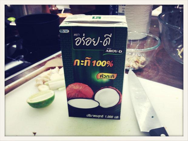 Hlavní ingredience tohoto kurzu vaření: kvalitní kokosové mléko Foto: Klára Michalová