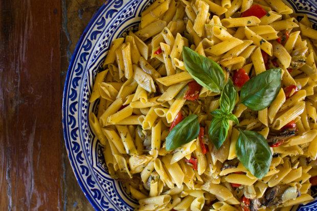 Kukuřičné těstoviny s bazalkou Foto: Thinkstock