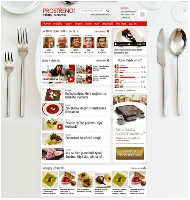 Ideální menu Prostřeno! 2 Foto: