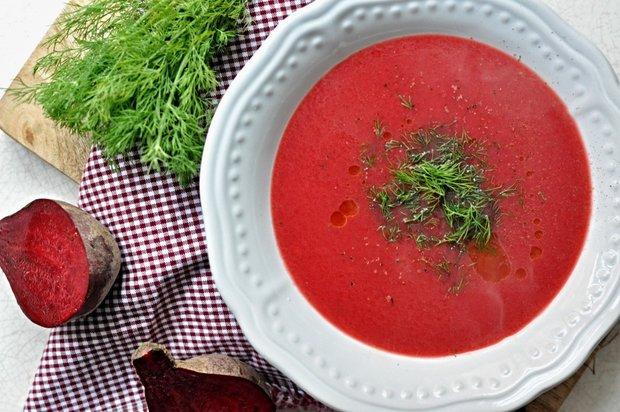 Polévka z červené řepy Foto: