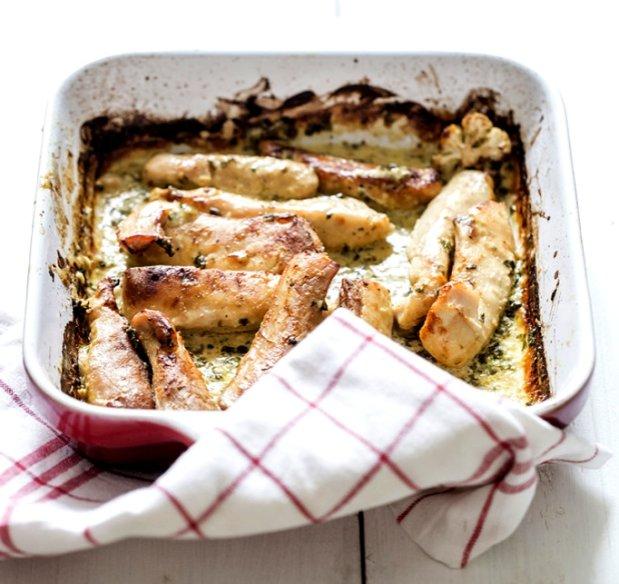 Filety z králíka s hořčicí a petrželí Foto: