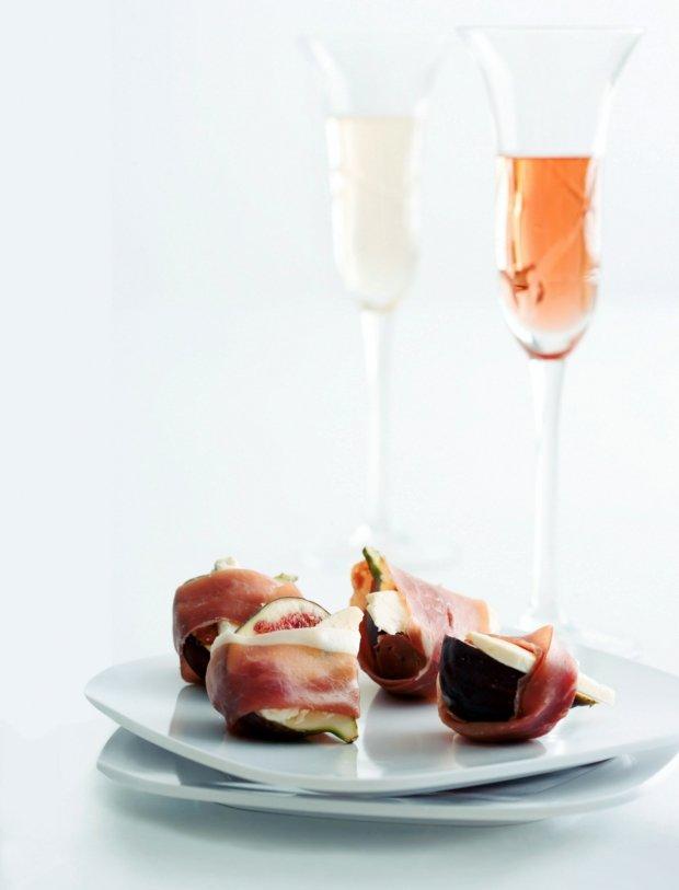 Čerstvé fíky s gorgonzolou a prosciuttem Foto: