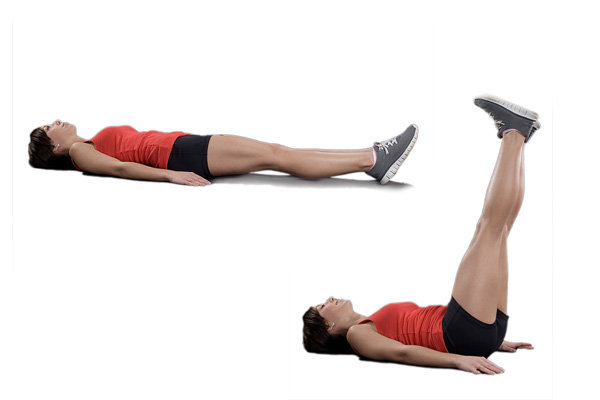 leg-drop-exercise Foto: