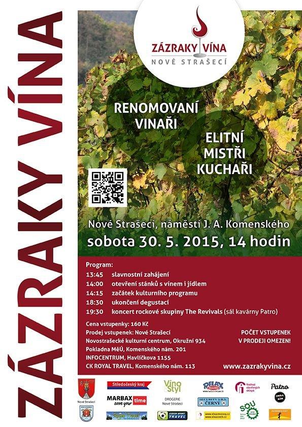 Zázraky vína - menu 3 Foto: