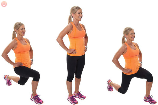 Alternating-Forward-Lunges_Exercise Foto: