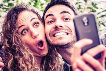selfie-smartphone Foto: