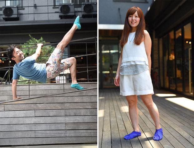 japanese-inspired-wrap-around-shoes-furoshiki-vibram-10 Foto: