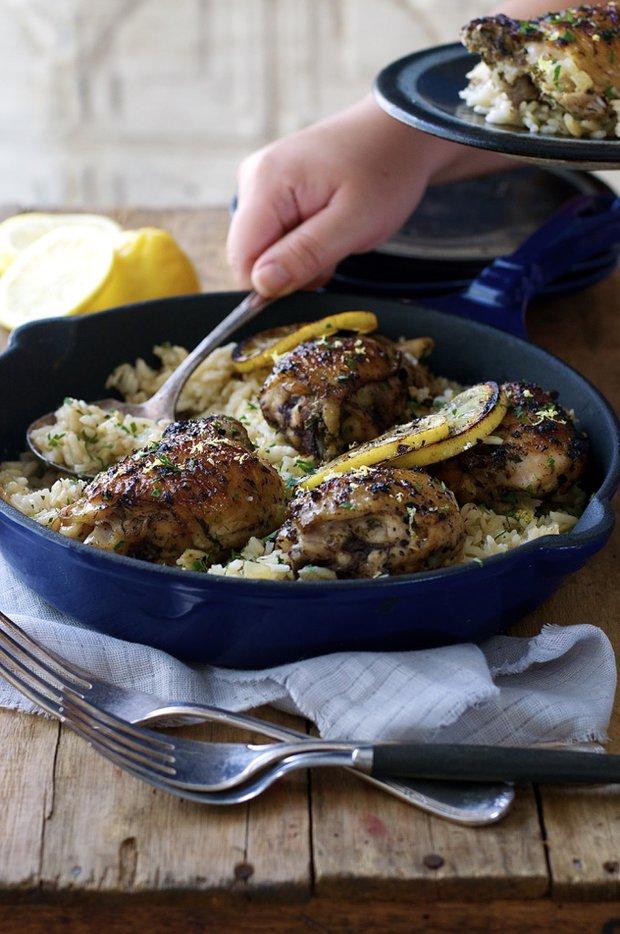 Citrónové kuře na řecký způsob 2 Foto: