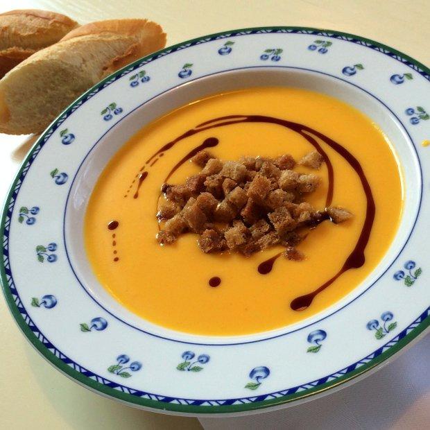 Dýňová polévka s pomerančem z Babiččiny zahrady  Foto: