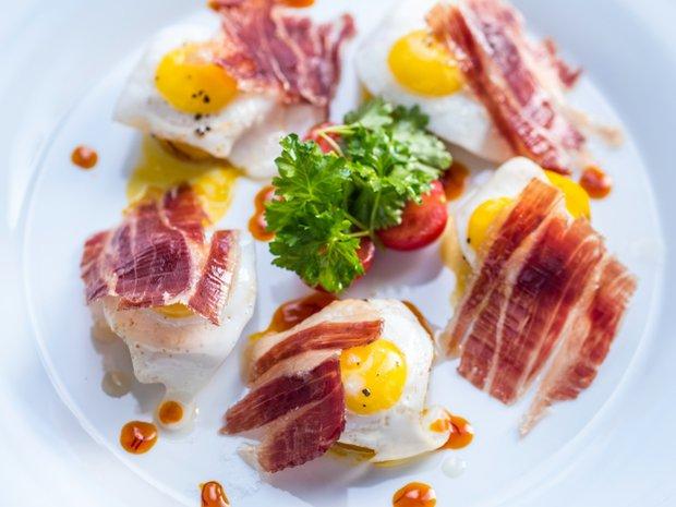 Španělská varianta na šunku s vejci Foto: