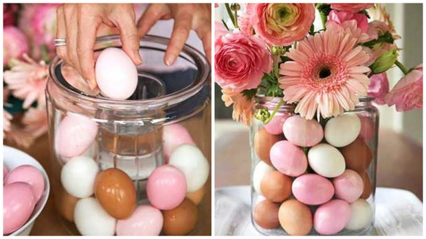 vajíčka ve váze Foto: