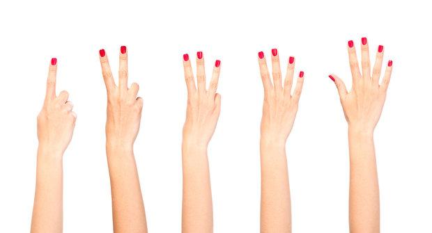 prsty na rukou Foto: