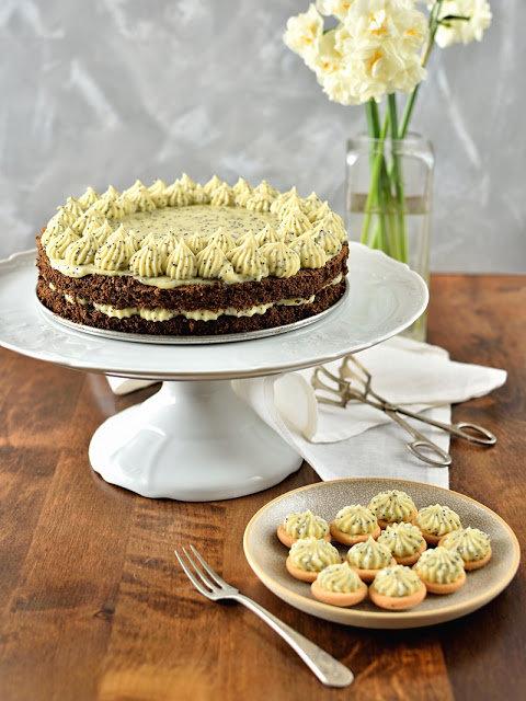 Makový dort se žloutkovým krémem 2 Foto: