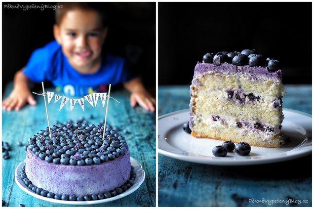 Borůvkový dort 2 Foto: