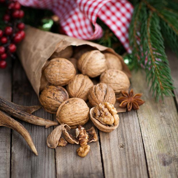 Ořechy k vánočním svátkům patří. Foto: